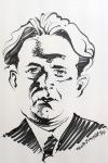 Kurt Tucholsky Karikatur