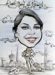 Karikatur von Kasli